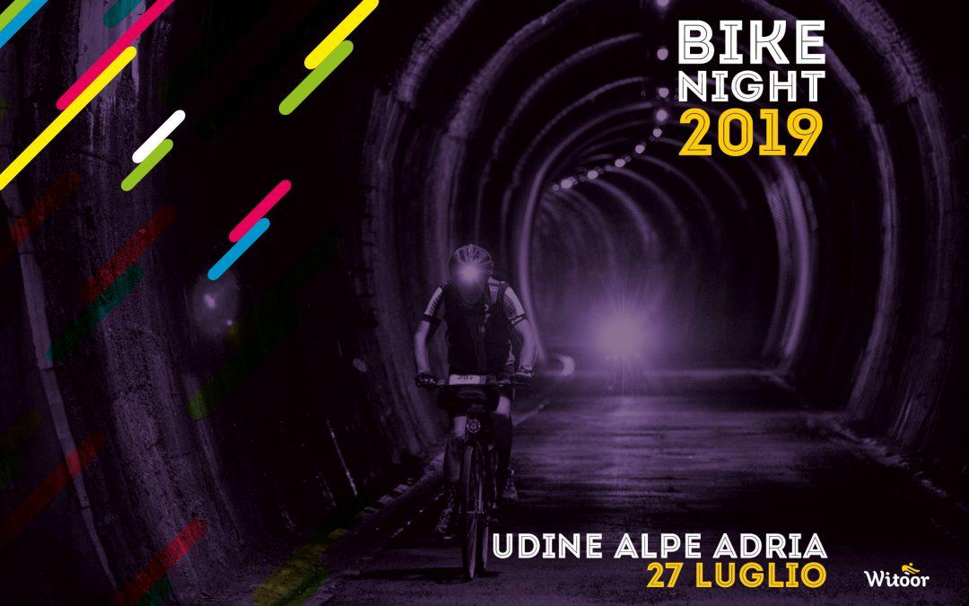 Bike Night Udine Alpe Adria, la festa della bici torna in Friuli