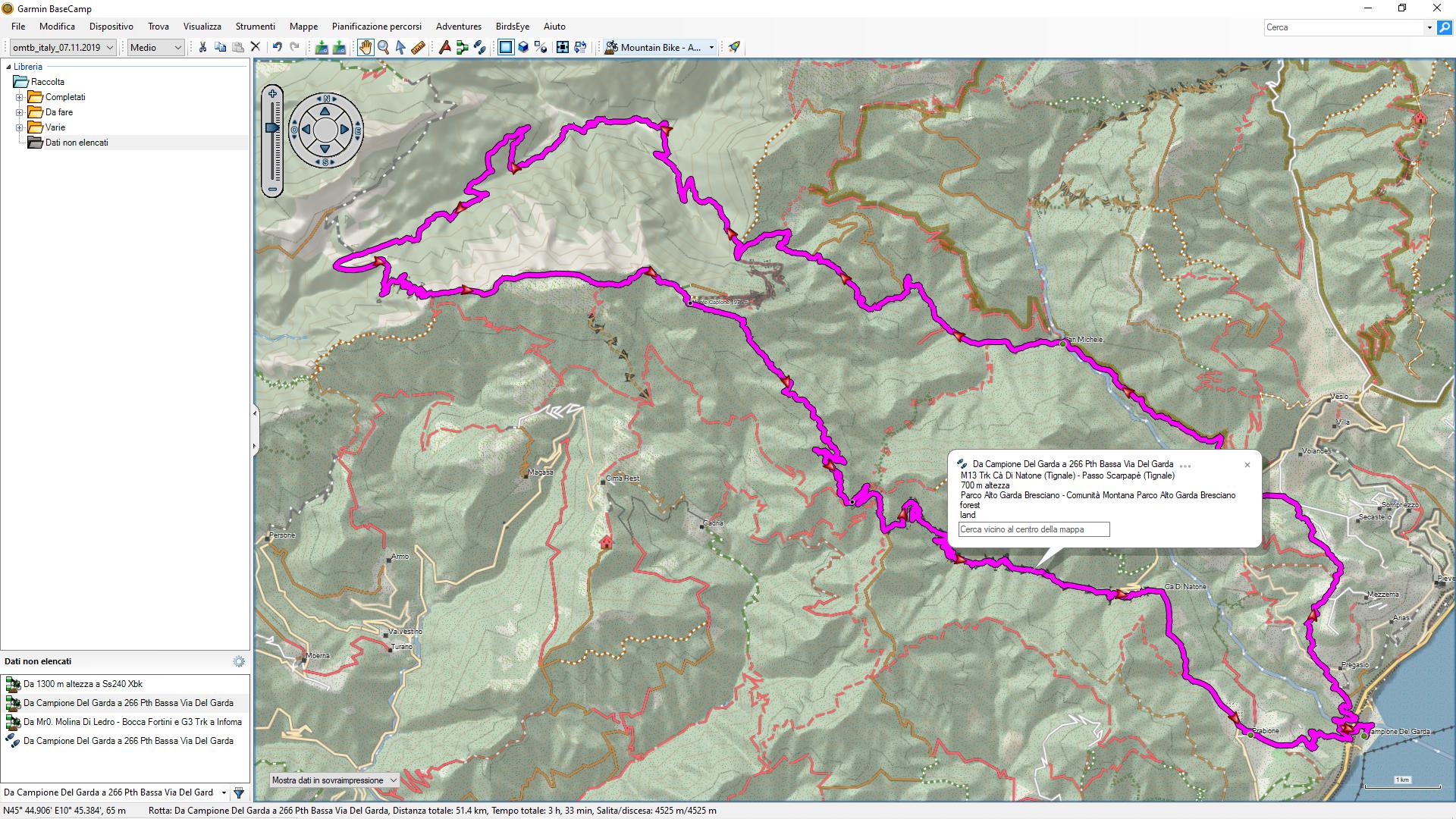 Mappa Italia X Garmin.Pianificare Le Escursioni In Mountain Bike Con Le Mappe Openmtbmap Mtbike
