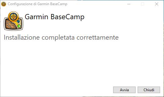 basecamp installazione fine