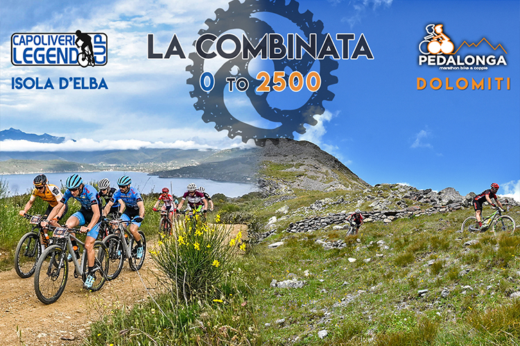 "Nasce  ""La Combinata 0 – 2500"", una partnership tra la Capoliveri Legend Cup e  La Pedalonga."